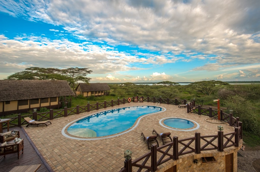 Swimming Pool Lake Ndutu Luxury Tented Lodge